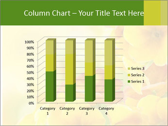 Yellow flowers PowerPoint Template - Slide 50
