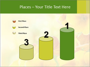 Yellow flowers PowerPoint Template - Slide 65