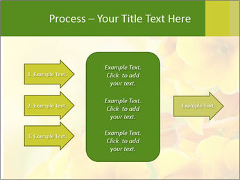Yellow flowers PowerPoint Template - Slide 85