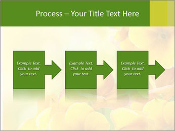 Yellow flowers PowerPoint Template - Slide 88