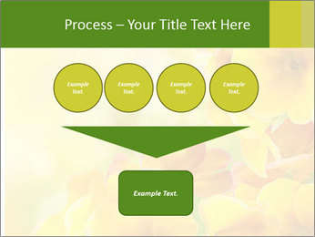 Yellow flowers PowerPoint Template - Slide 93