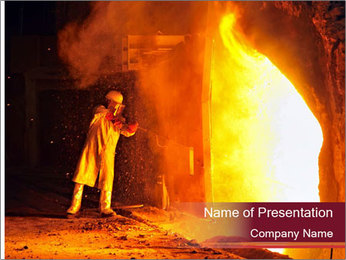 Industrial PowerPoint Template - Slide 1