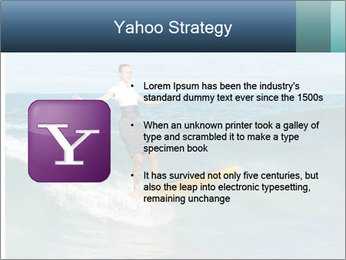 Young business person surfing PowerPoint Templates - Slide 11