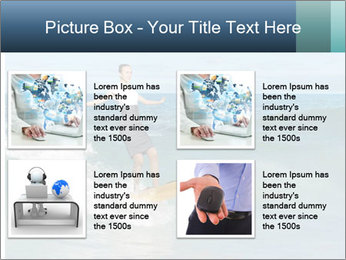 Young business person surfing PowerPoint Templates - Slide 14