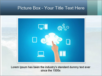 Young business person surfing PowerPoint Templates - Slide 15