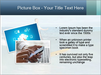Young business person surfing PowerPoint Templates - Slide 20