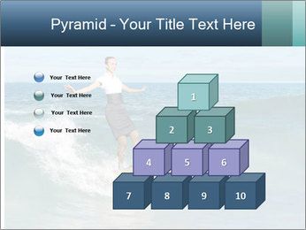 Young business person surfing PowerPoint Templates - Slide 31