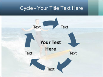 Young business person surfing PowerPoint Templates - Slide 62