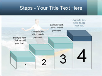 Young business person surfing PowerPoint Templates - Slide 64