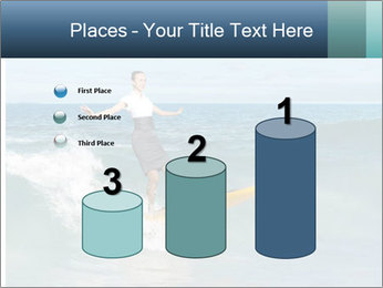 Young business person surfing PowerPoint Templates - Slide 65