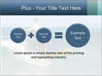 Young business person surfing PowerPoint Templates - Slide 75
