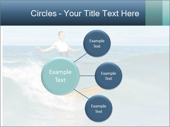 Young business person surfing PowerPoint Templates - Slide 79