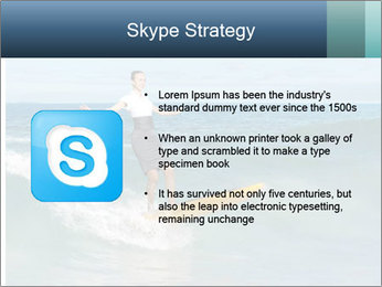 Young business person surfing PowerPoint Templates - Slide 8
