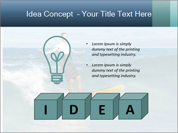 Young business person surfing PowerPoint Templates - Slide 80