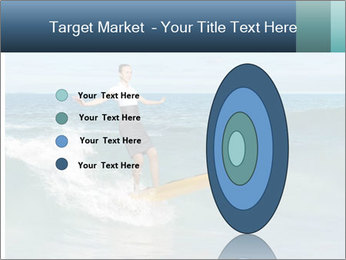 Young business person surfing PowerPoint Templates - Slide 84