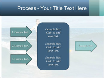 Young business person surfing PowerPoint Templates - Slide 85