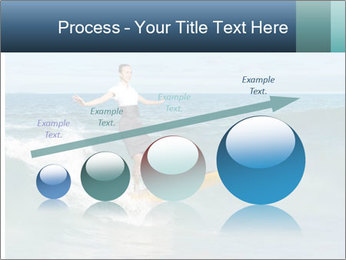 Young business person surfing PowerPoint Templates - Slide 87