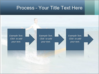 Young business person surfing PowerPoint Templates - Slide 88