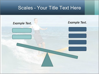 Young business person surfing PowerPoint Templates - Slide 89
