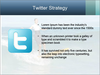 Young business person surfing PowerPoint Templates - Slide 9