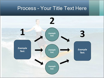 Young business person surfing PowerPoint Templates - Slide 92