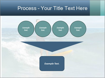 Young business person surfing PowerPoint Templates - Slide 93