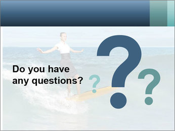 Young business person surfing PowerPoint Templates - Slide 96