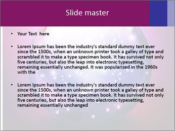 Crystal Ball PowerPoint Template - Slide 2