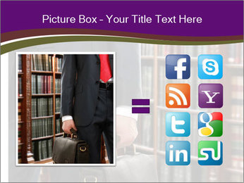 A lawyer PowerPoint Template - Slide 21