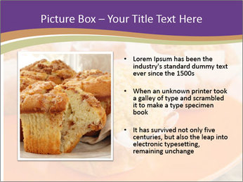 Homemade Muffins PowerPoint Templates - Slide 13