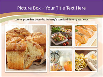 Homemade Muffins PowerPoint Templates - Slide 19