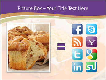 Homemade Muffins PowerPoint Templates - Slide 21