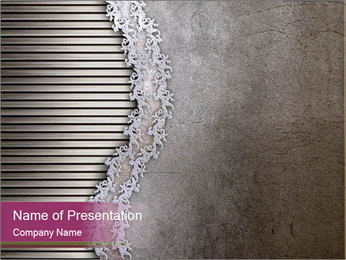 Metallic Decor PowerPoint Template