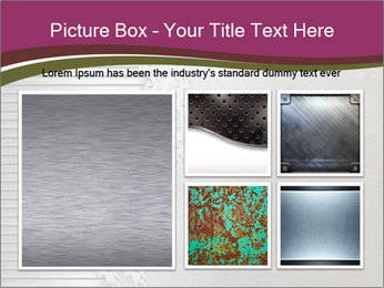 Metallic Decor PowerPoint Templates - Slide 19