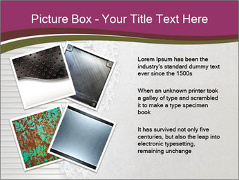 Metallic Decor PowerPoint Templates - Slide 23