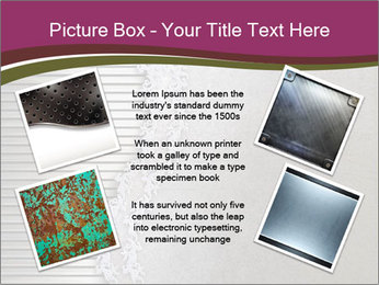 Metallic Decor PowerPoint Templates - Slide 24