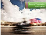 Biker Freedom PowerPoint Templates
