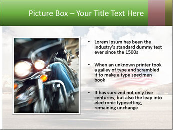 Biker Freedom PowerPoint Template - Slide 13