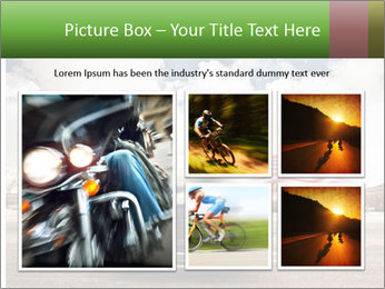 Biker Freedom PowerPoint Template - Slide 19