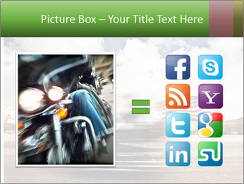 Biker Freedom PowerPoint Template - Slide 21
