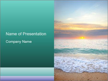 Seaside Sunset PowerPoint Templates