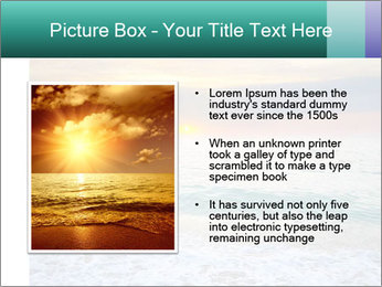 Seaside Sunset PowerPoint Templates - Slide 13