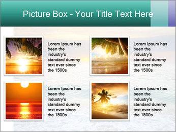 Seaside Sunset PowerPoint Templates - Slide 14