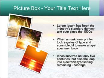 Seaside Sunset PowerPoint Templates - Slide 17
