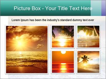 Seaside Sunset PowerPoint Templates - Slide 19
