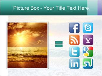Seaside Sunset PowerPoint Templates - Slide 21