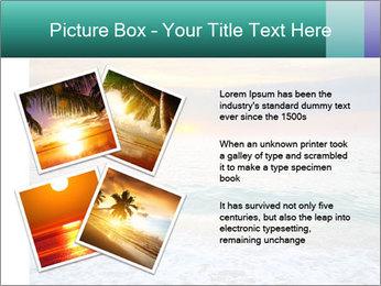 Seaside Sunset PowerPoint Templates - Slide 23