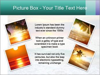 Seaside Sunset PowerPoint Templates - Slide 24