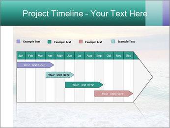 Seaside Sunset PowerPoint Templates - Slide 25