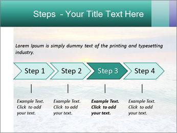 Seaside Sunset PowerPoint Templates - Slide 4